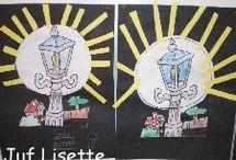 kern 1 VLL : Mijn klas. / ik- maan- roos-vis-sok-aan-pen-en / by Ingrid Hankel
