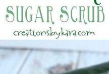 Sugar scrub recipe