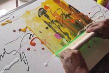 painture abstraite