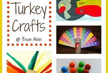 Autumn & Thanksgiving Ideas / Crafts and activities related to Autumn and/or Thanksgiving