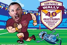 State of Origin Invitations