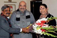 With BJP Leaders / #BJP4Delhi #KrishnaTirath