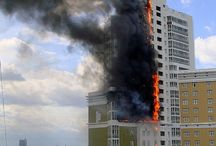 high-rise building fire safety / Fires in high-rise, a fire rescue