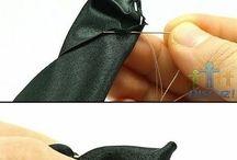 kurdele süsleme teknikleri