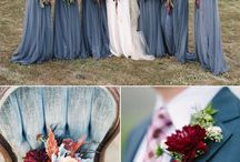 Wedding Dusty Blue Color / this is the color that we will have the bridesmaids in
