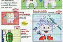 Dentinhos-Ponto Cruz