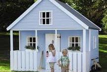 Playhouses and sheds  / Ideas for building / by Tamara Coutu