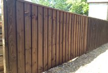 Wooden fence panels / The best wooden fence panels for your garden or business.