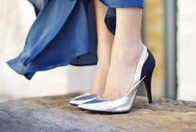 Attractive Heels / Silver / by antilibrary.org