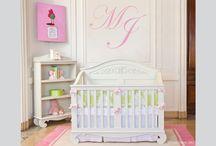 M's nursery~walls / by Heather Andrejkanic Pergola
