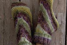knitt 10 вязаная обувь и носки