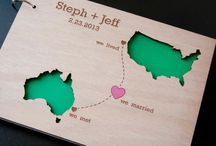 Rustic Wedding Guestbooks