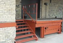 Custom Iron Railings, Signs, Steps and other stuff we make