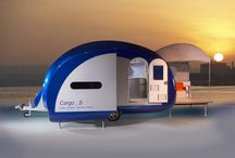 Caravan of the Future  / In 2005, The Caravan Club invited designers, engineers and enthusiasts to enter the Caravan of the Future – Design Concept Competition. This is what the winning entry looked like.  The winners were Bristol-based design collaboration duo Paul Burchill and Herve Delaby with the Cargo S.  Bailey of Bristol was selected by The Caravan Club to manufacture the prototype of Cargo S.