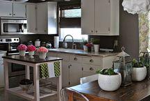 Home Decor- Small kitchen ideas