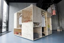 pop-up shop / display ideas / by Jeffrey Gonzales