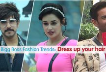 Dress Up Your Hair / Cool hairstyles for this Diwali - Inspired by the Bigg Boss Housemates!