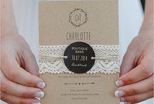 Wedding Invitations - Inspiration