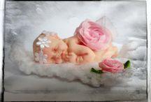 Ooak- süße Babys / niedliche Babys und Elfenkinder geformt aus Fimo und liebevoll gestaltet...