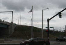 RIDOT Replaces Tattered Flag
