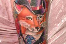 Kettu tatuoinnit
