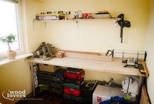 Warsztat / Nasz skromny warsztat domowy :)