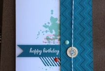 Stampin' Masculine Cards