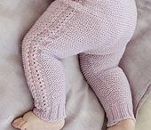 Knit baby/toddler leggings, pants