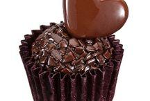 Eu Só Quero Chocolate !!! Doces, Cobertura, Recheios e Tudo Que Nos Dá Água Na Boca...