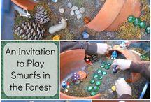 Mini play spaces