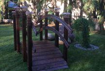 Yard project / Garden bridge