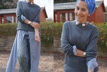 Уличный хиджаб