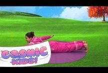 yoga for the kidlets