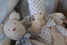Lavender stuffed toys