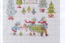 cross stitch decoration ideas