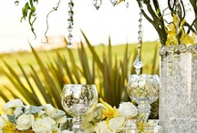 Tablescapes We Love / Inspiration to for your wedding reception table designs.