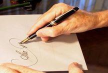 curso de caligrafia.