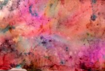 My Alcohol Ink Loves / Pins found on Pinterest using alchol inks that can be used in different crafts.