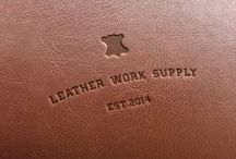 LeatherWorkSupply Project / Some photos of my newly made brands