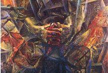 Boccioni Umberto / Storia dell'arte Pittura  20° sec. Umberto Boccioni 1882-1916