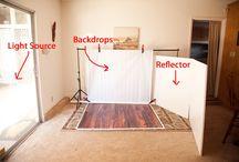 Studio: home set ups / by Lisa Markosky-Hodgson