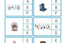 Clip Cards - worksheets4kids
