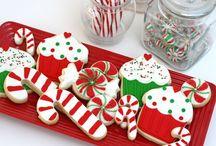 baking for Christmas