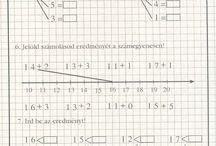 Matematika feladatlapok