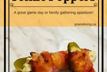 Sides and Appetizers / Recipes for side dishes and appetizers