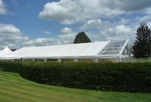 Marquees / Beautiful Clearspan marquees