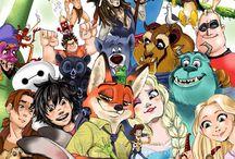 Disney and pixsar