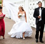 Fun Wedding Shots / Brides, Grooms and Bridal Party just kicking back