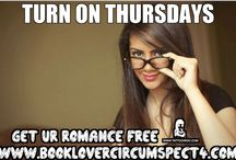 Turn on Thursdays! Get it on for #free / These are five free romance books for Kindle that I found interesting on Amazon. (At the time of this post, these books were free, prices are subject to change at anytime. I can't control everything). ;-)