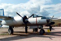 Douglas A26 Invader / Pima Air & Space Museum : Tucson, Arizona 1990 Douglas A26 Invader